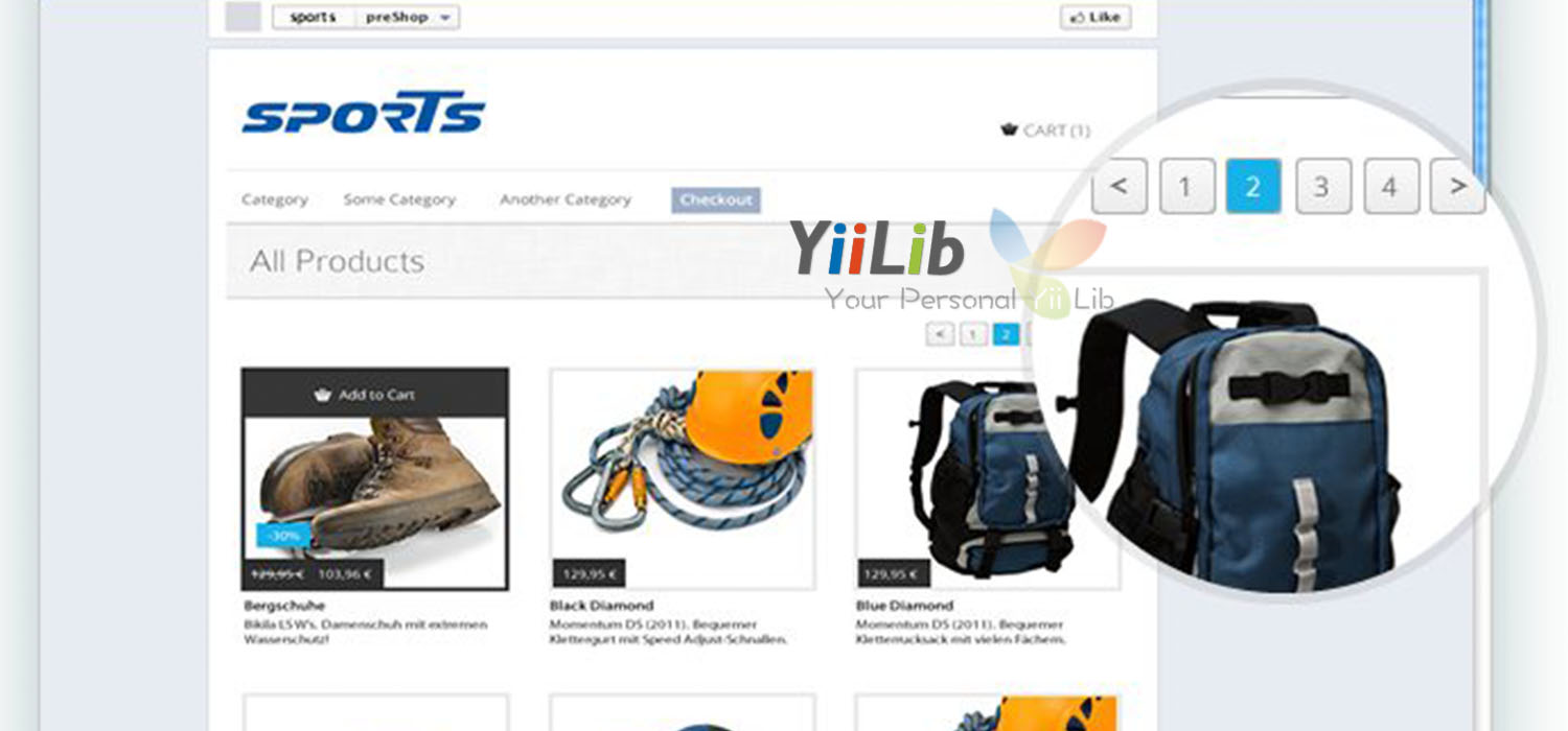 ShopShare Product List Page