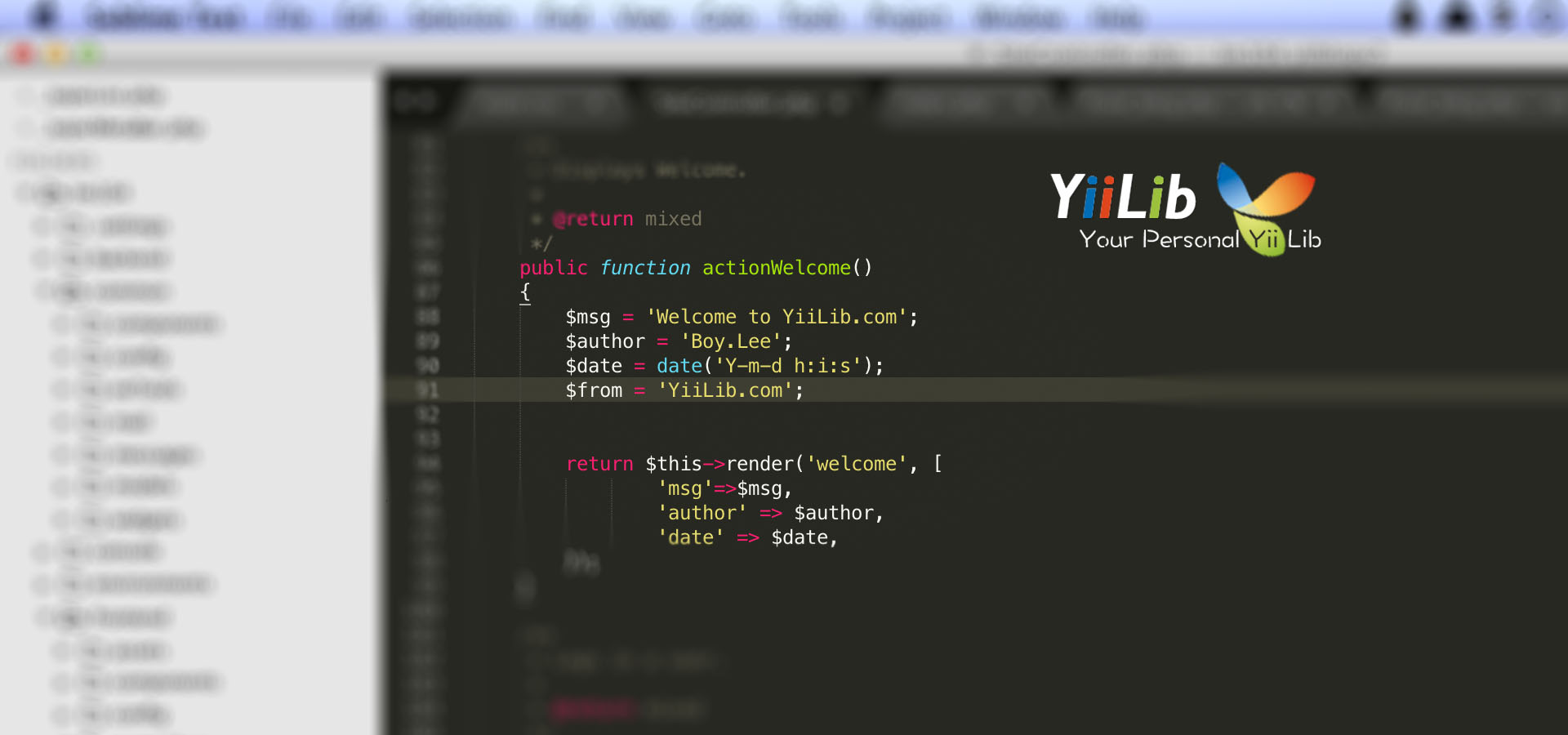 New YiiLib.com online