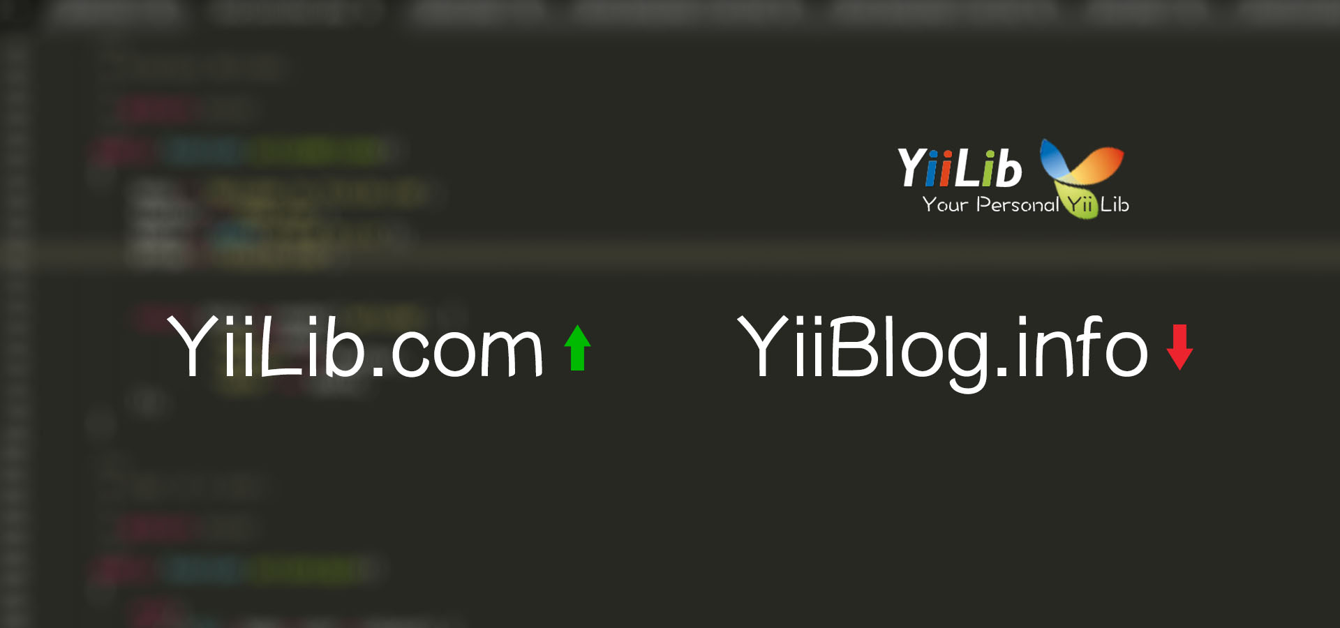 From YiiBlog.info to YiiLib.com